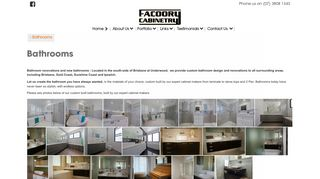 Facoory Cabinetry
