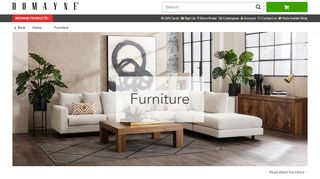 Domayne Furniture Online